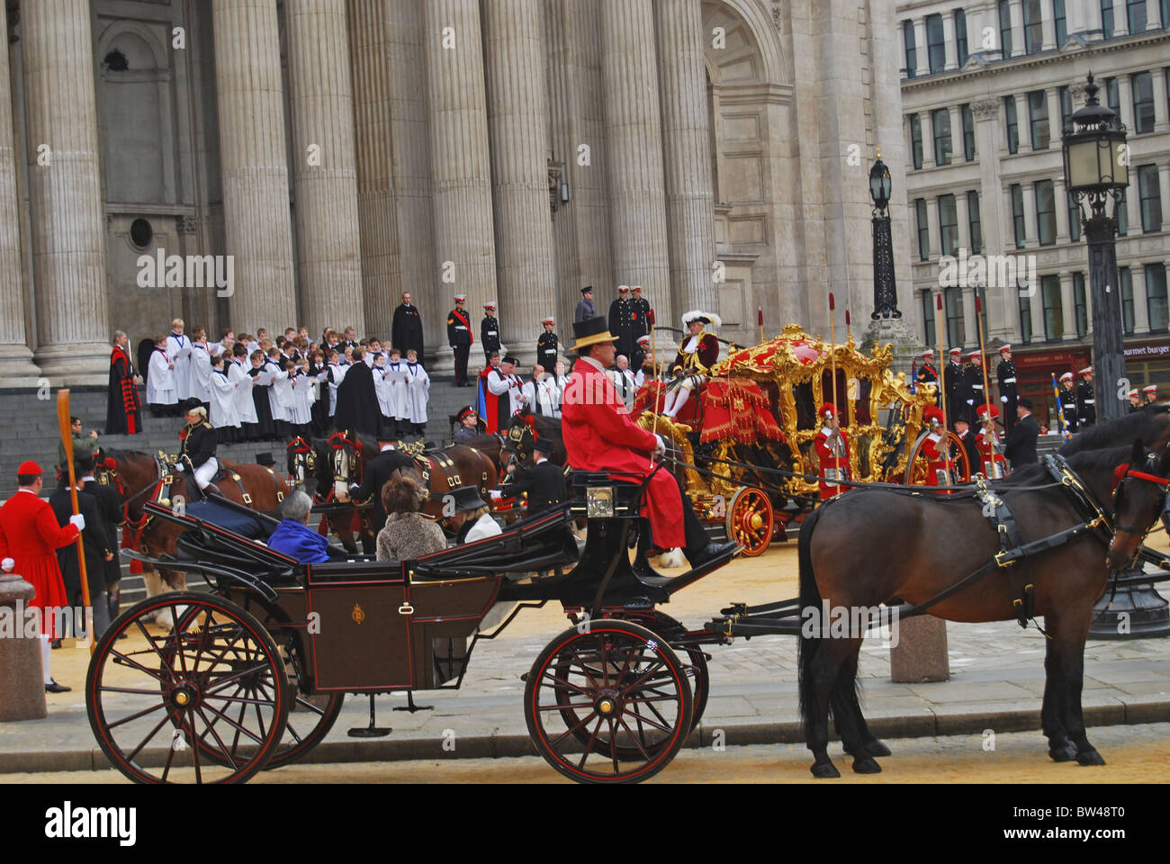 The Lord Mayors Show City of London 2010 - Stock Image