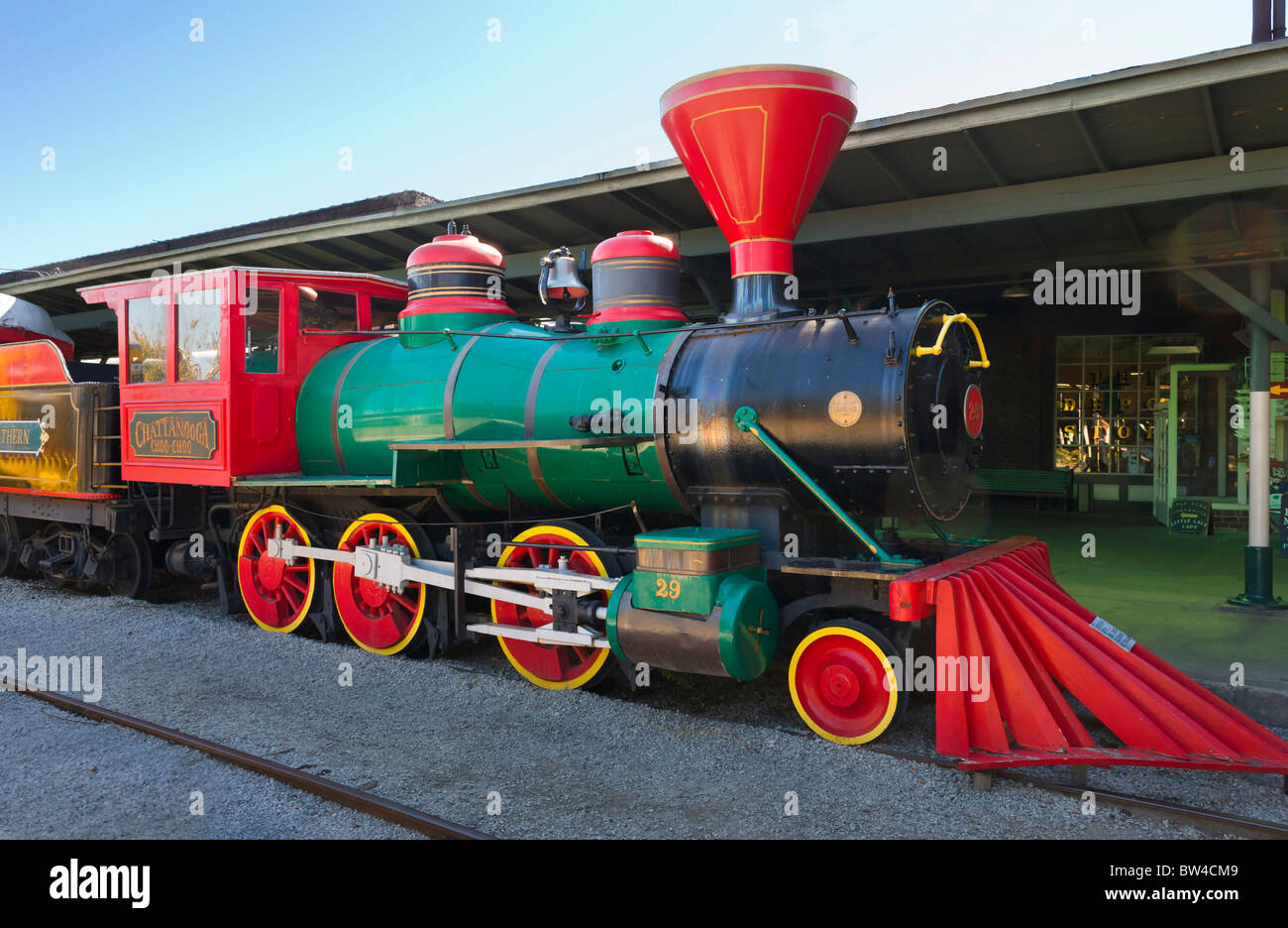 The Chattanooga Choo Choo Train Inside The Chattanooga