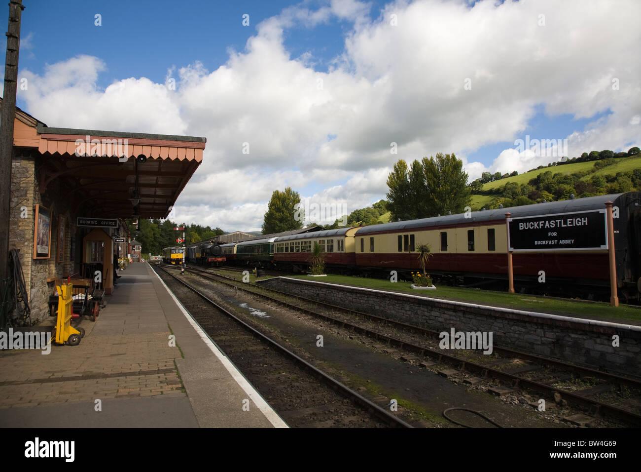 Buckfastleigh Station - Stock Image