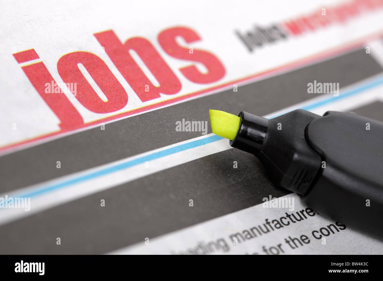Job search - Stock Image
