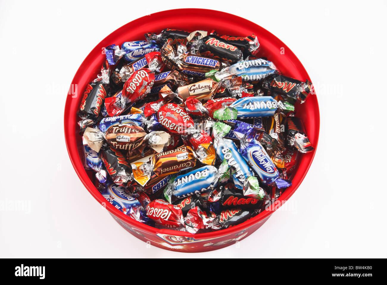 Chocolates In Celebrations Box