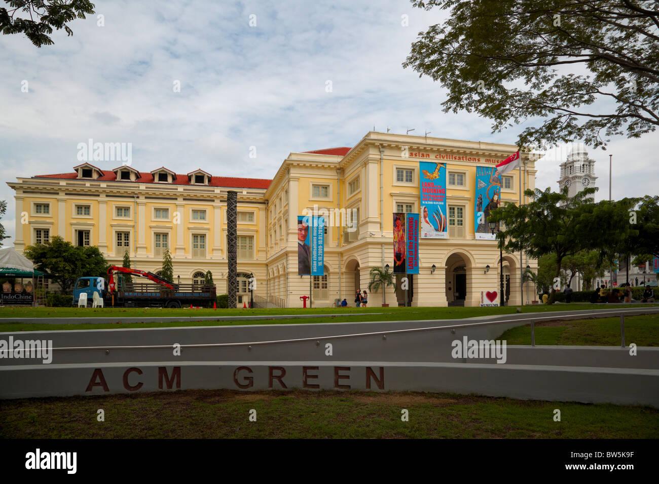 Asian Civilizations Museum, Singapore - Stock Image