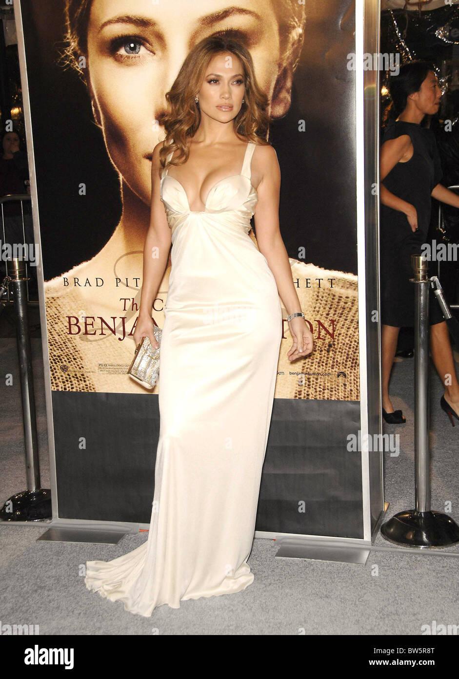 f1d9755e58 Jennifer Lopez Wearing A Roberto Cavalli Gown Stock Photos ...