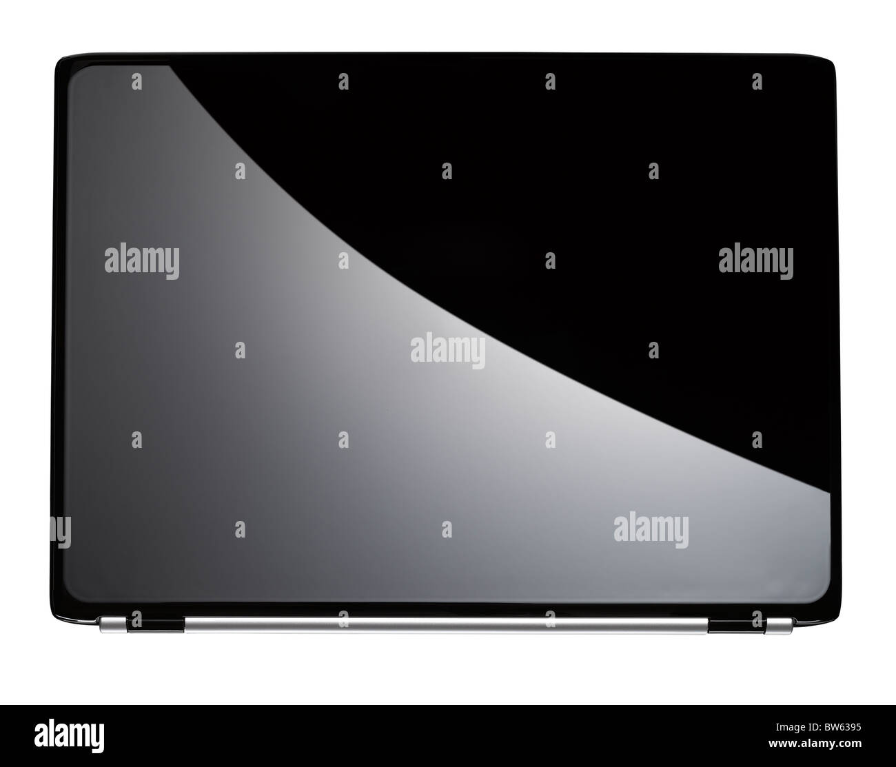 A laptop computer - Stock Image
