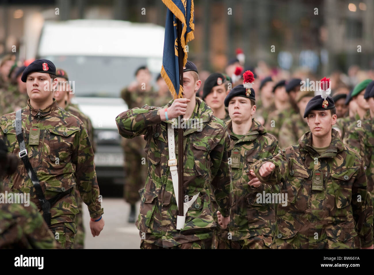 07e8c2e9 Army Cadet Force, The Lord Mayors Show, London, 2010 - Stock Image