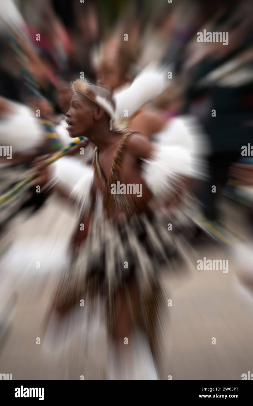 Mighty Zulu Nation, The Lord Mayors Show 2010 - Stock Image