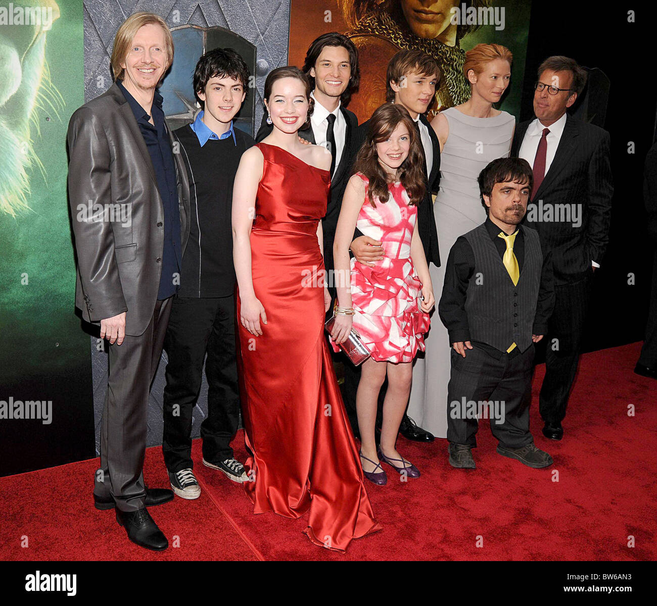 THE CHRONICLES OF NARNIA: PRINCE CASPIAN Premiere Stock