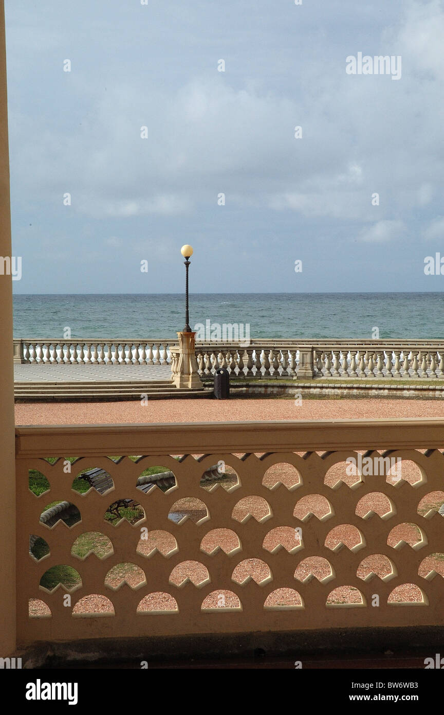 particular of mascagni terrace - Stock Image