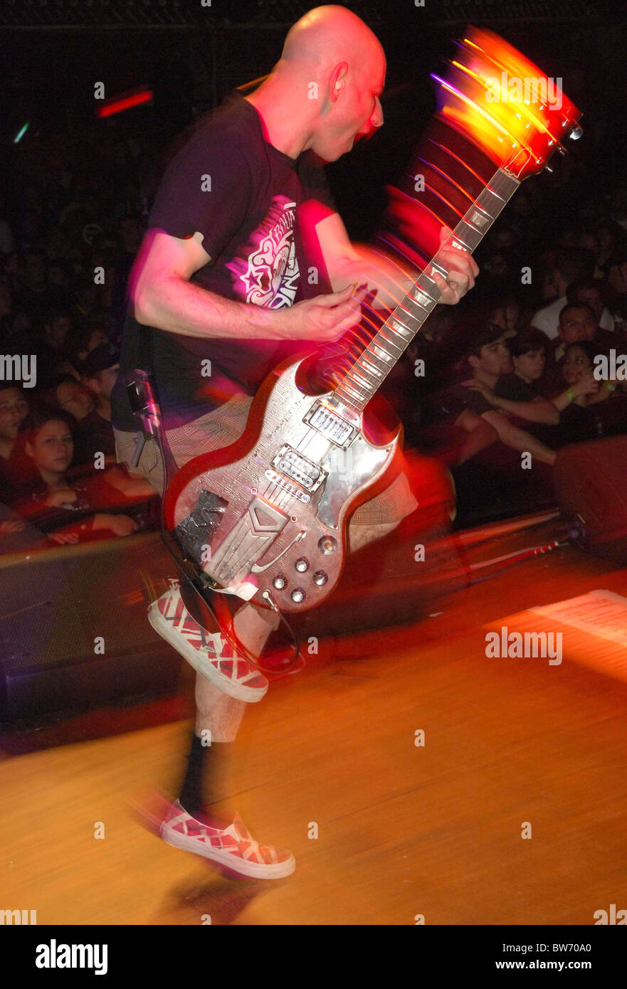 Circle Jerks with Pennywise Concert - Stock Image