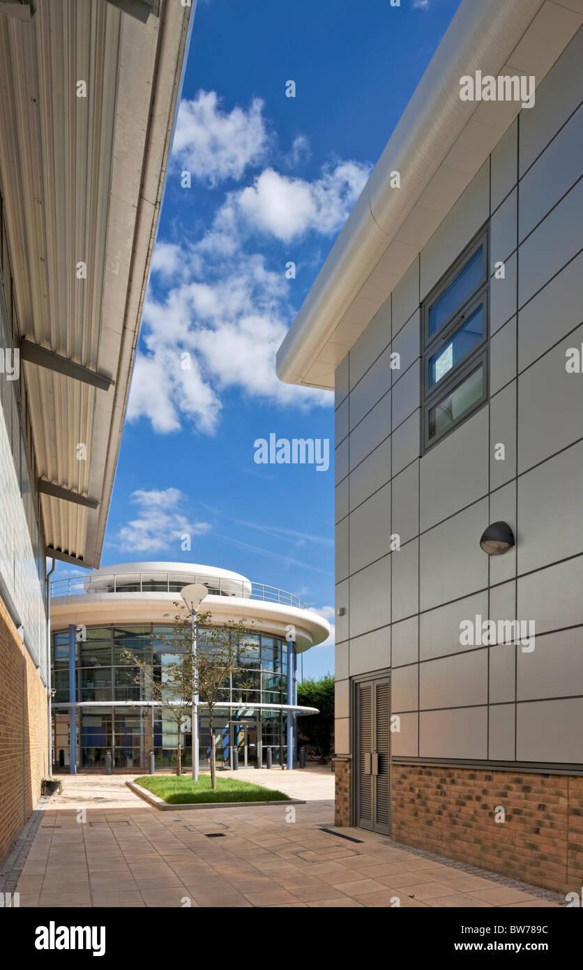 Burlington Danes Academy. - Stock Image