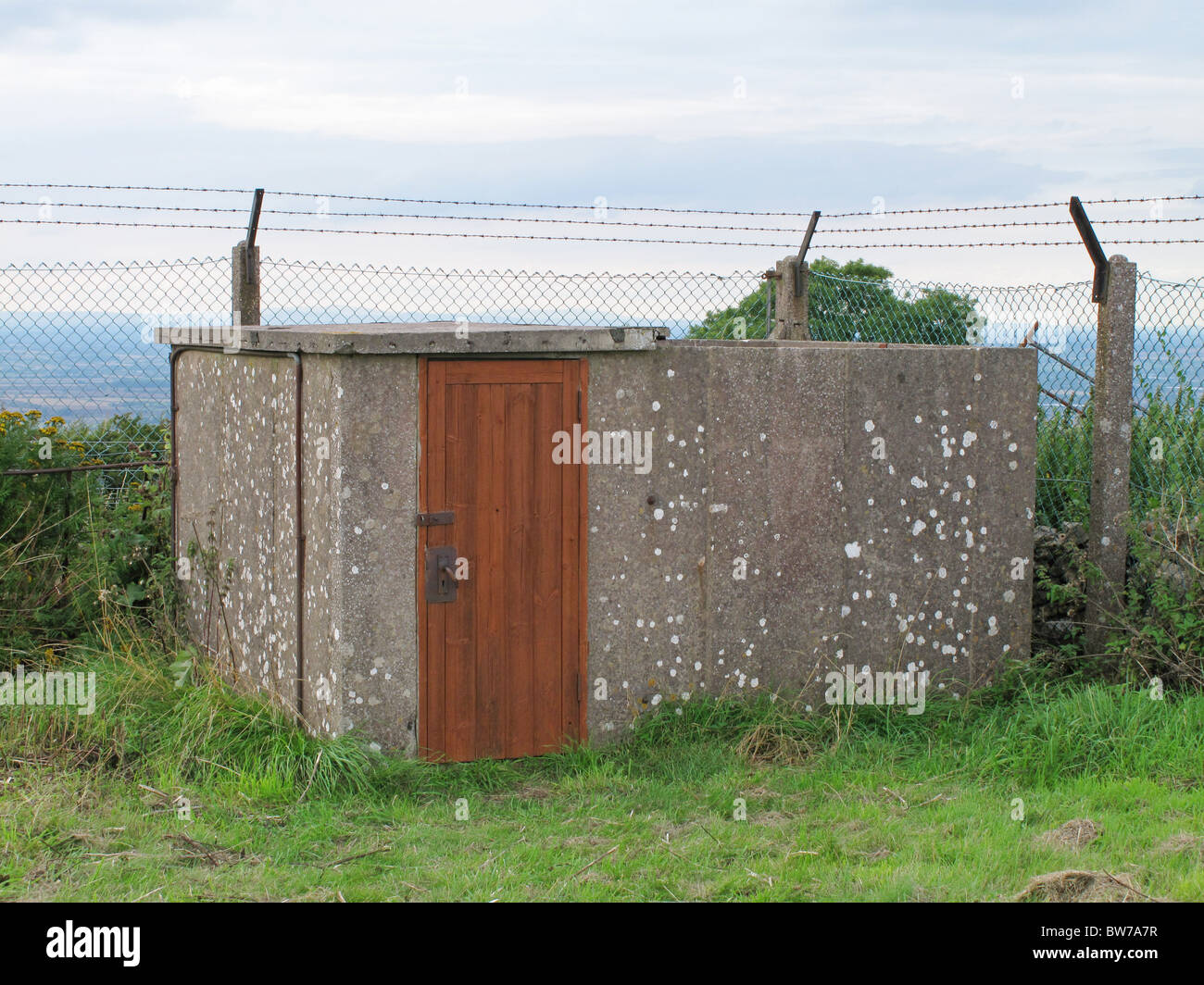 Orlit A Royal Observer Corps post, Broadway, Fish Hill, Worcestershire, England - Stock Image