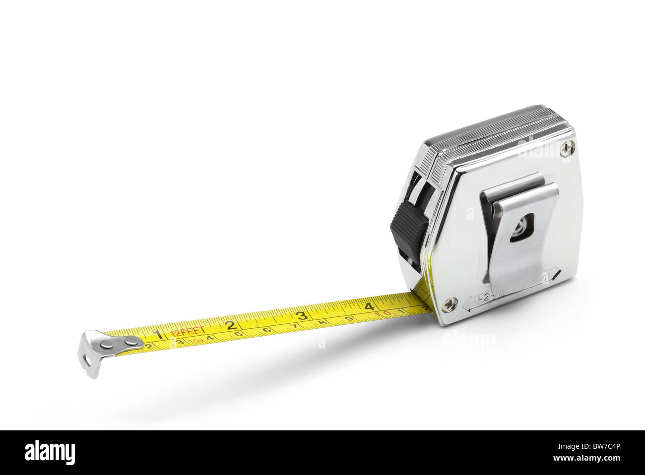 Tape measure and rule - Stock Image