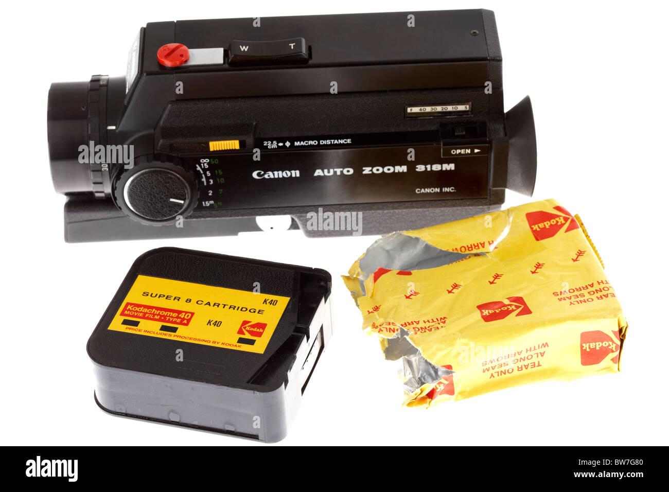 super8 cine home movie camera made by canon and kodak super