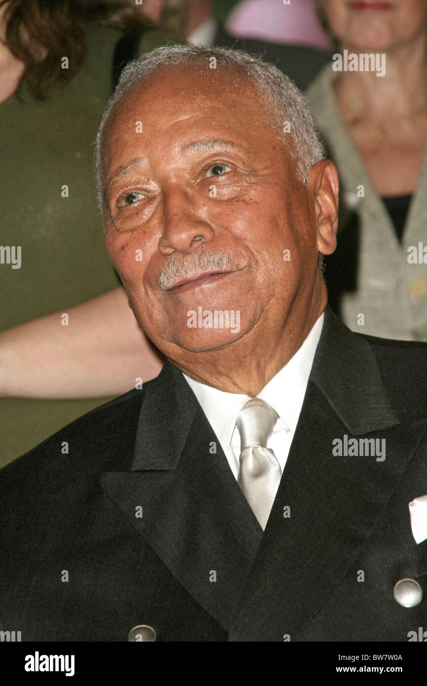 david dinkins 80th birthday party stock photo 32750042 alamy