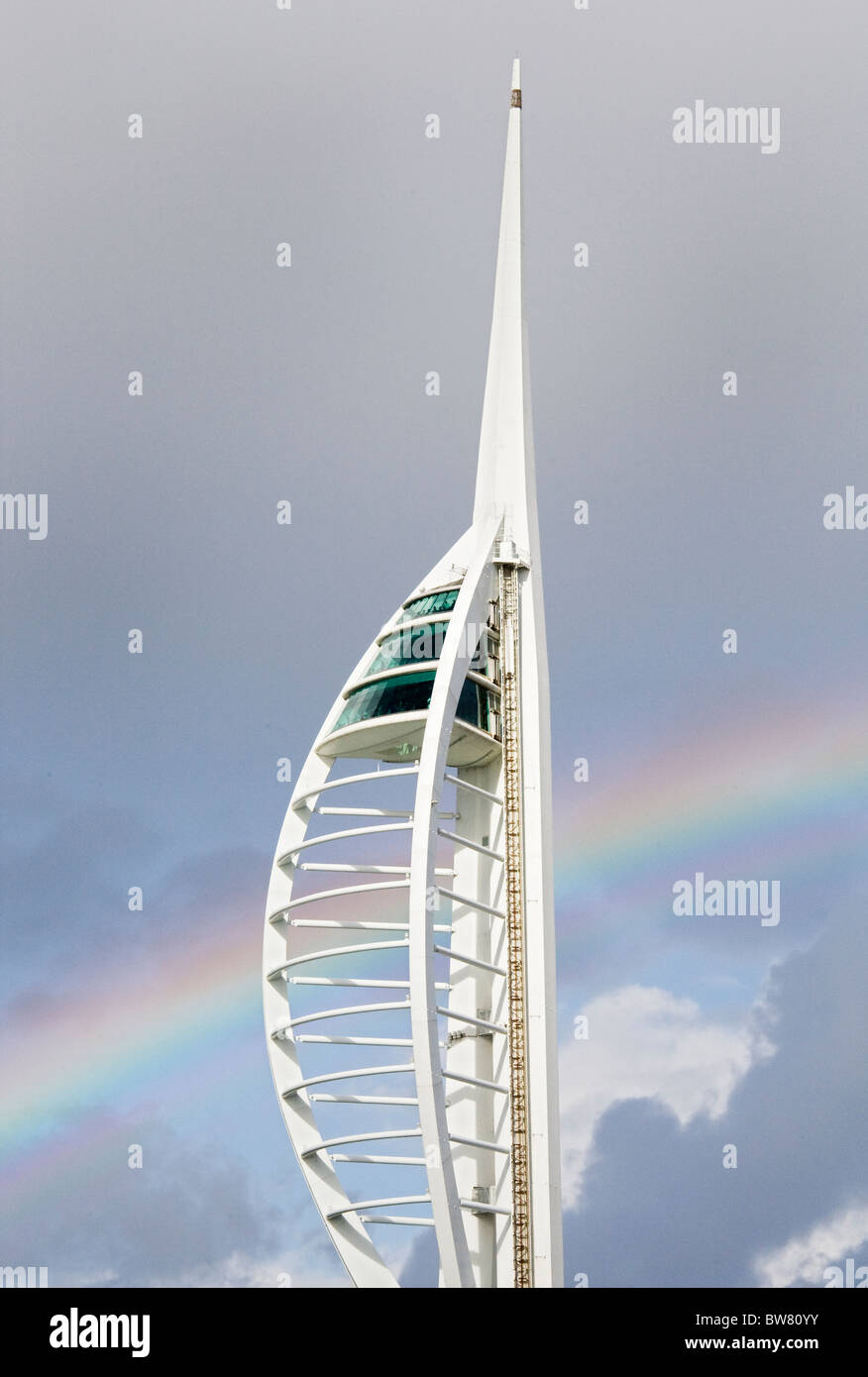 Spinnaker Tower 4 - Stock Image