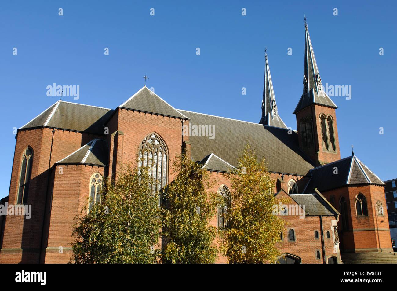 St. Chad`s Catholic Cathedral, Birmingham, UK - Stock Image