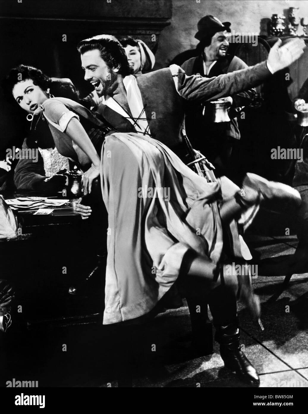 RITA MORENO & ORESTE KIRKOP THE VAGABOND KING (1956) - Stock Image