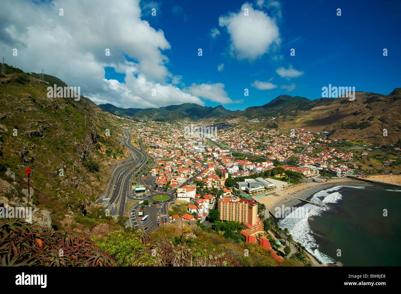 View of Camacha,Madeira - Stock Image