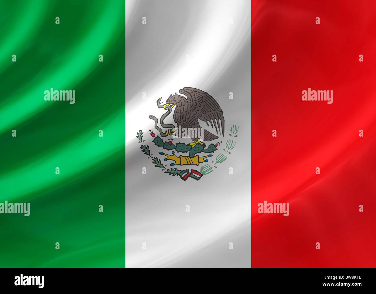 Mexico Flag Stock Photo 32767963 Alamy