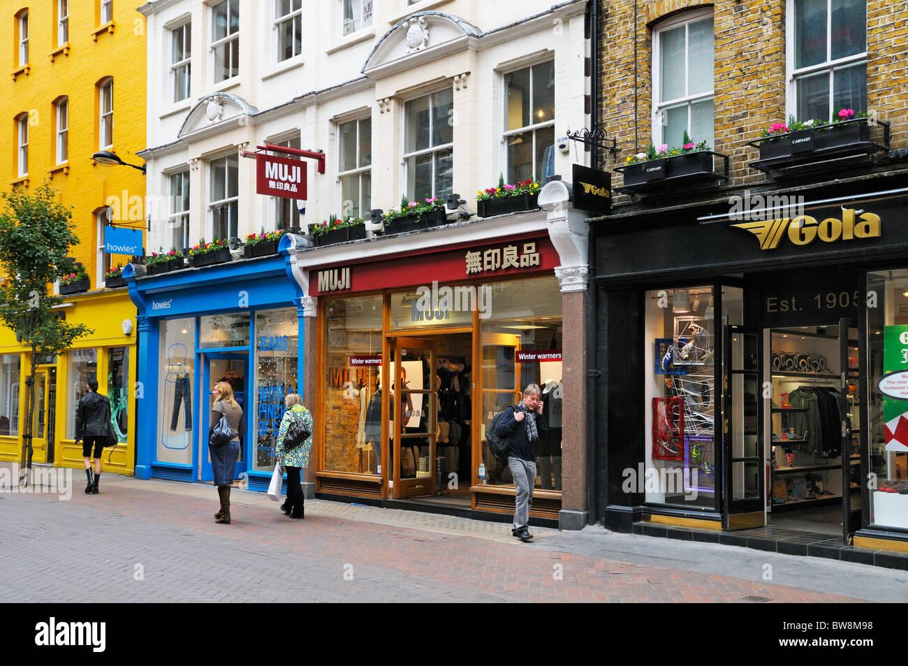 Carnaby Street, London, England, UK - Stock Image