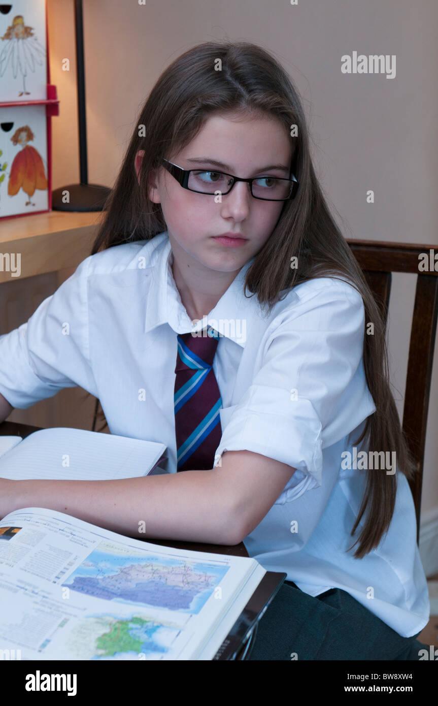 In Pics of young uniform girls school