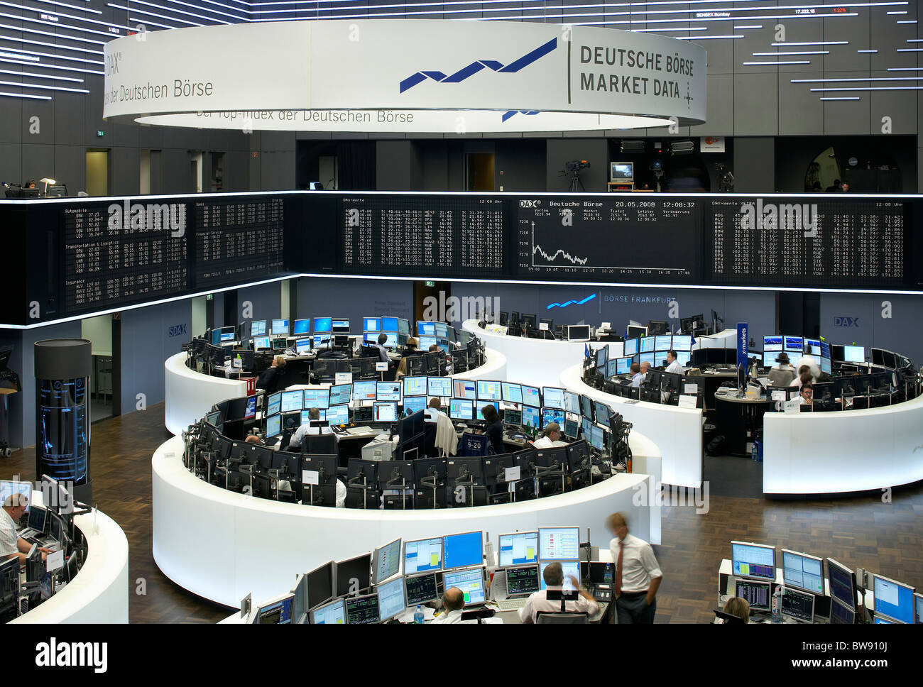 Broker At Deutsche Boerse Stock Photos Amp Broker At