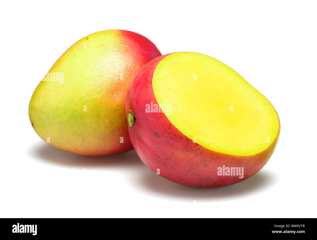 mangoes for cut out - Stock Image