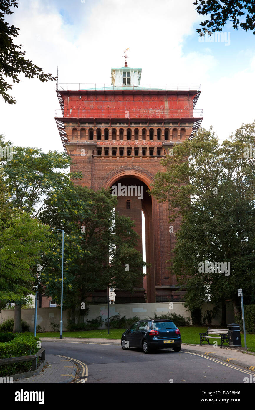 Jumbo Water Tower in Colchester, Essex, UK - Stock Image