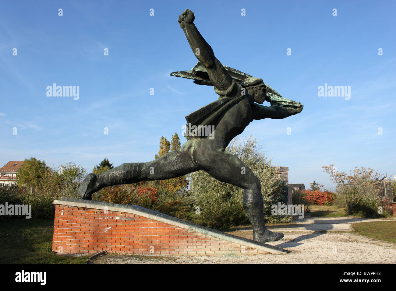 Republic of Councils Monument Memento Park, Budapest, Hungary. - Stock Image