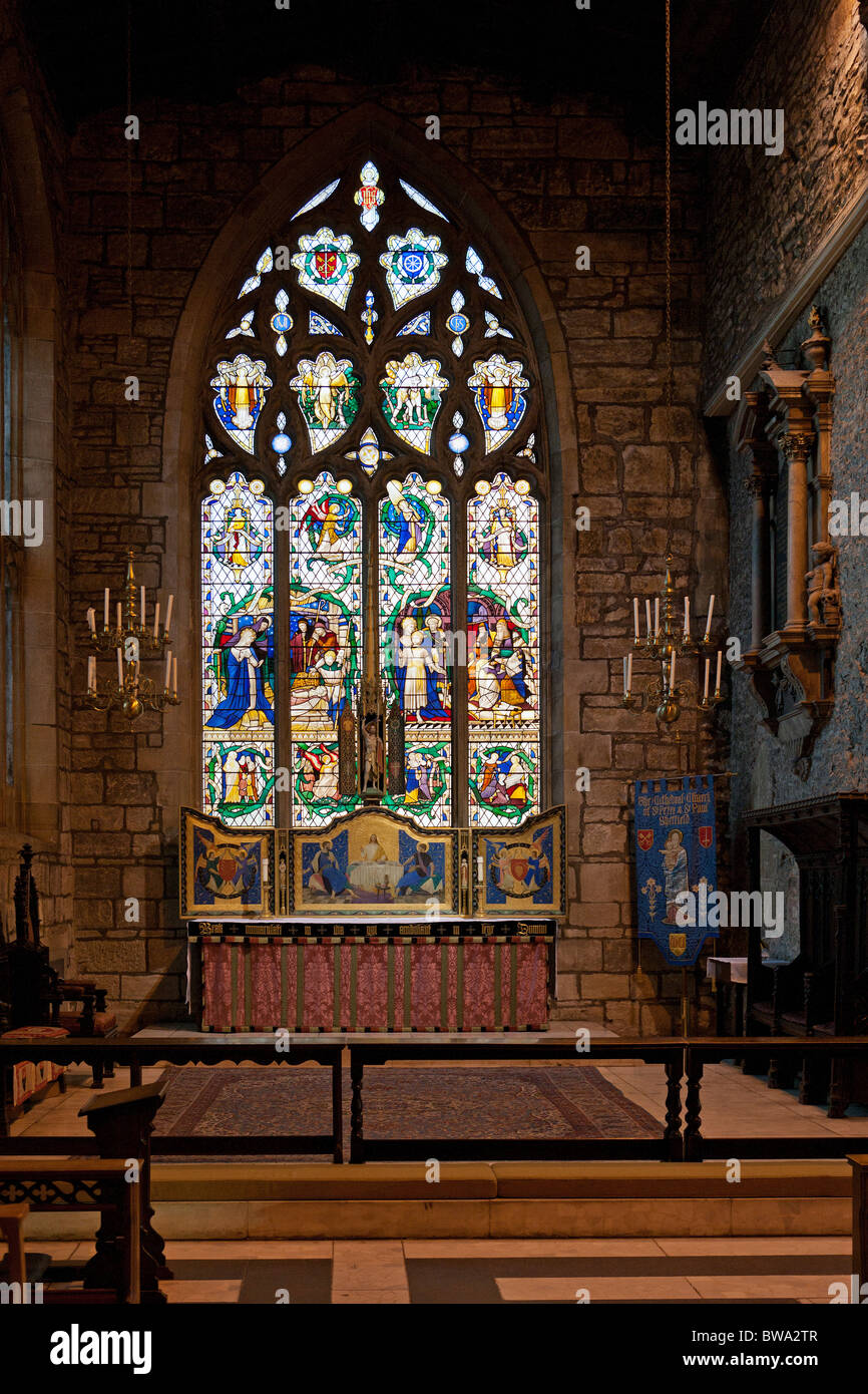 St Katharine's Chapel, Sheffield Cathedral - Stock Image