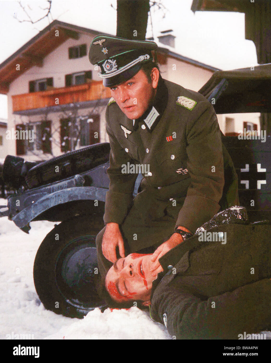 WHERE EAGLES DARE 1969 MGM film with Richard Burton - Stock Image