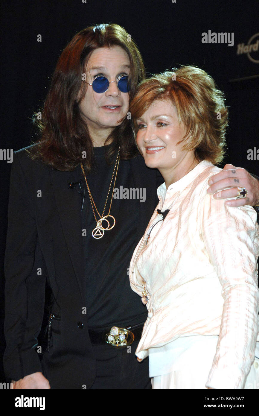 Sharon And Ozzy Osbourne High Resolution Stock Photography And Images Alamy