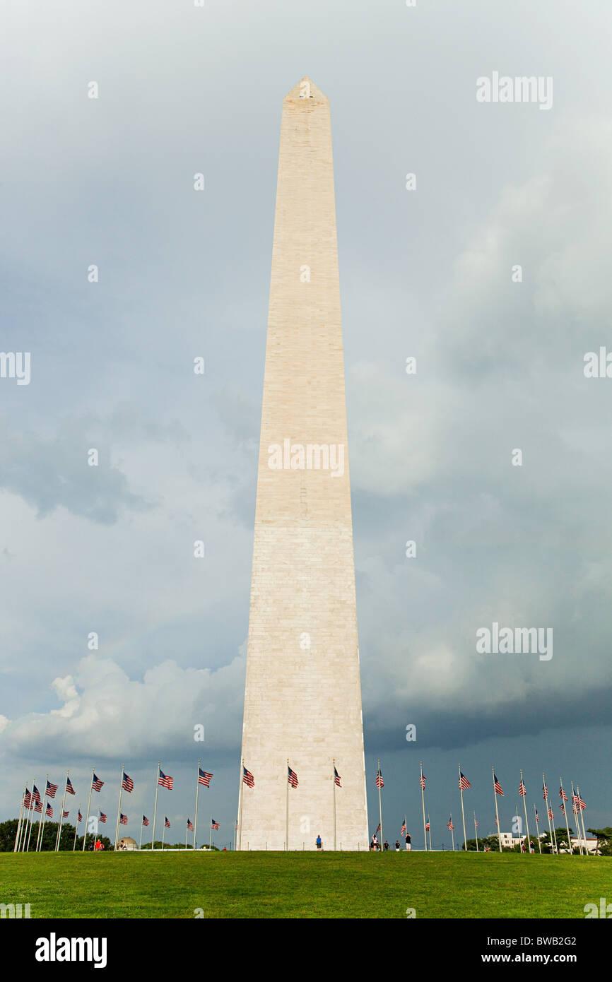 Washington monument, Washington DC, USA - Stock Image