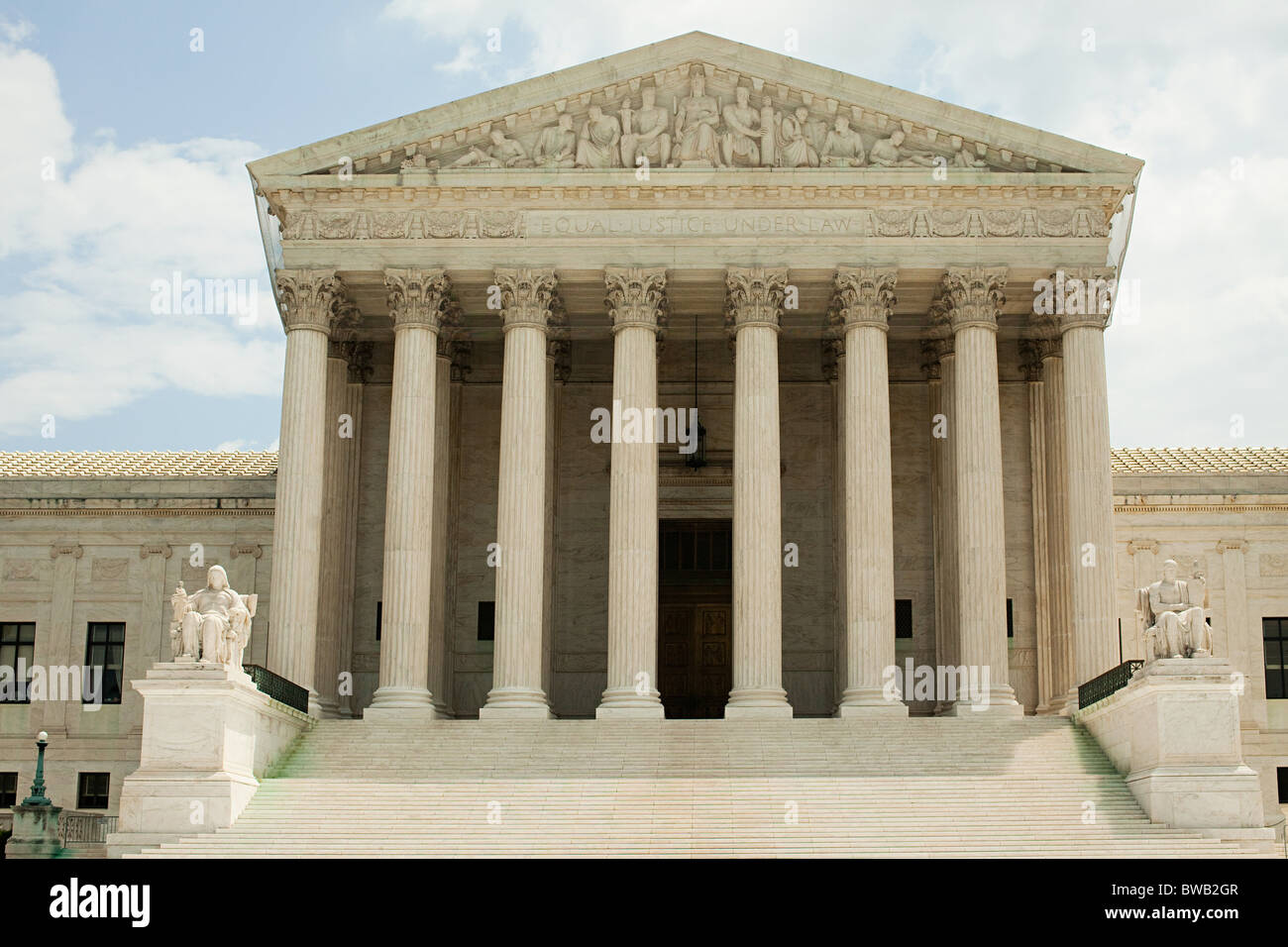 US supreme court building, Washington DC, USA - Stock Image