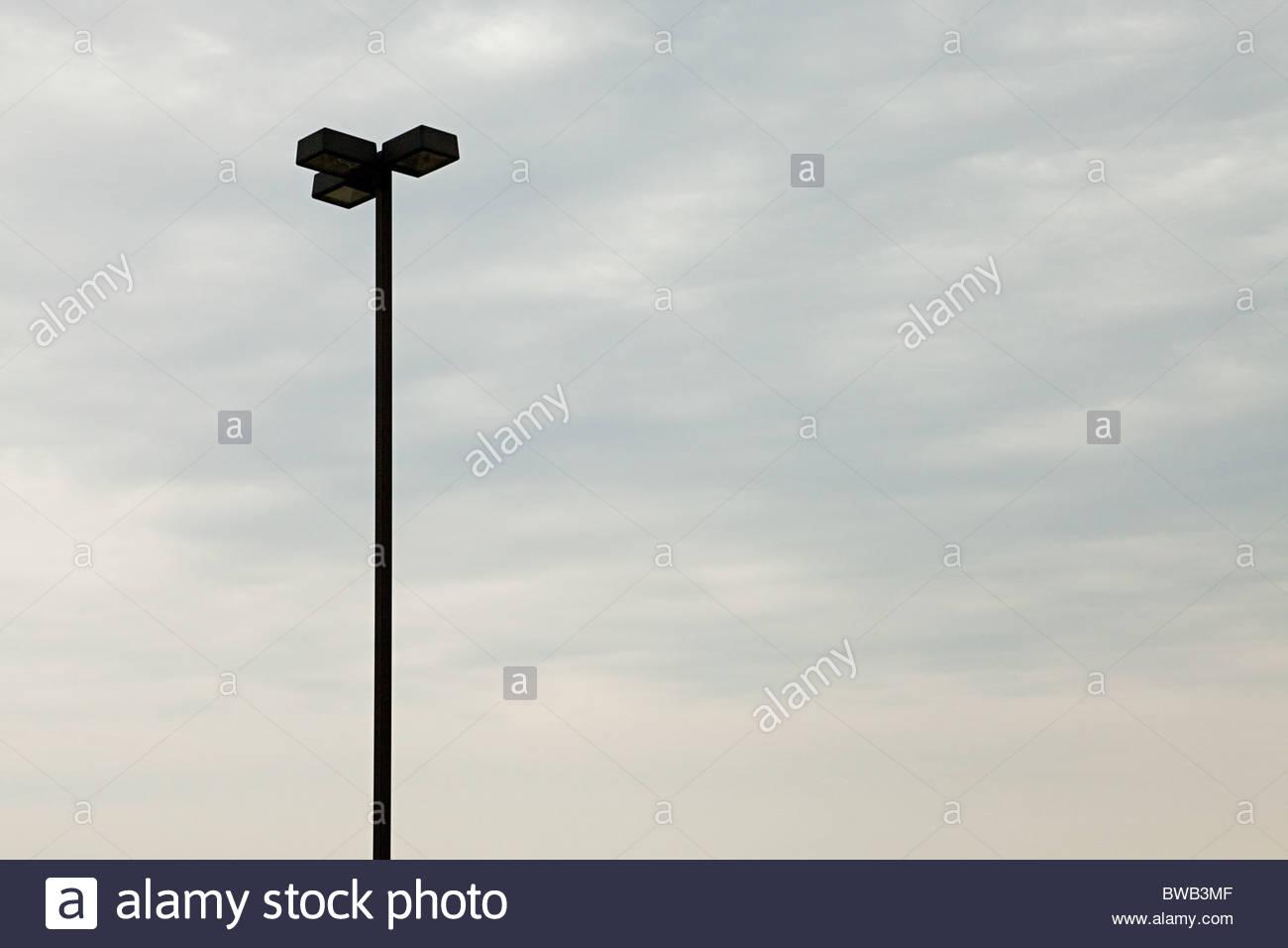 Lamp post against sky - Stock Image