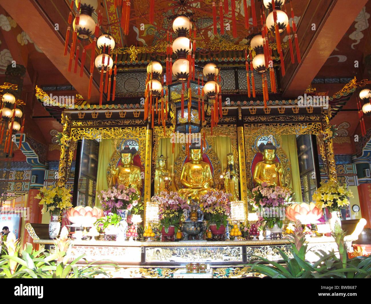 Po Lin Monastery - Stock Image