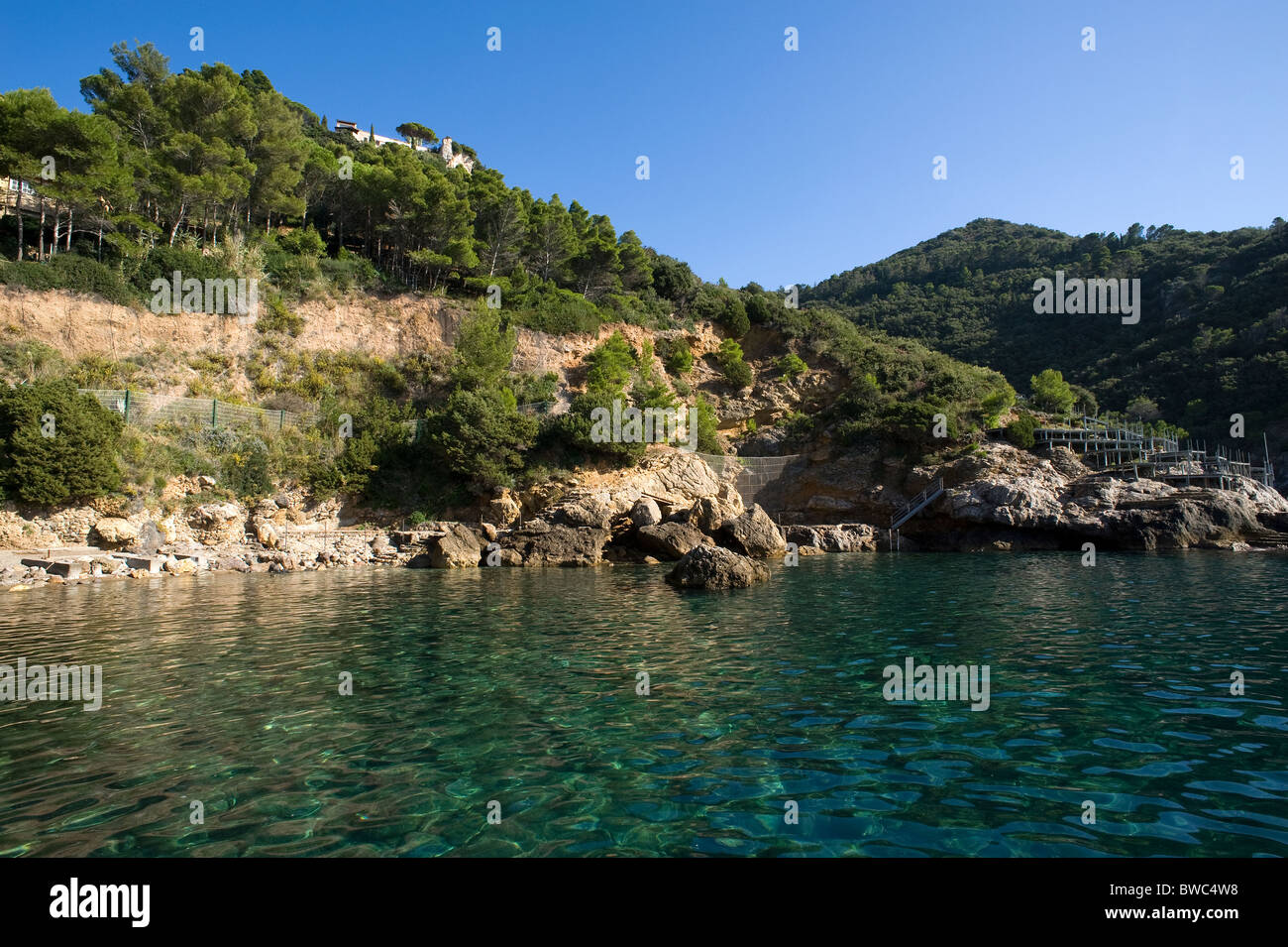 Cala Piccola, Argentario, Grosseto, Tuscany, Italy - Stock Image