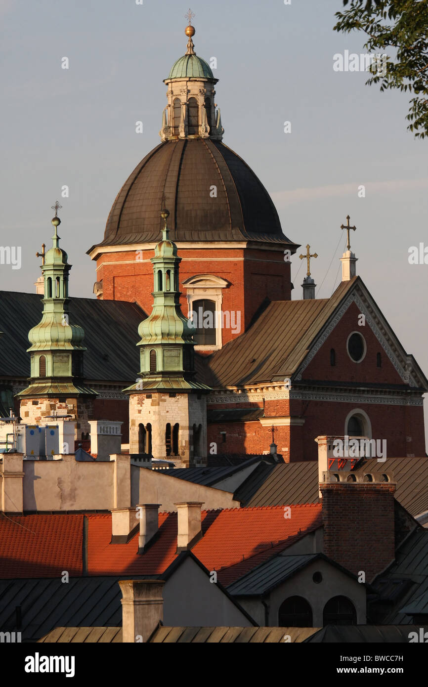 St. Peter and St. Paul's church in Cracow, Poland Stock Photo