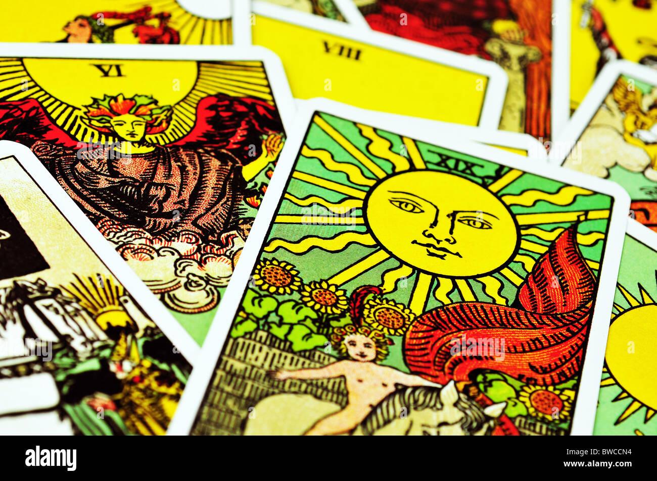 Tarot cards - Stock Image