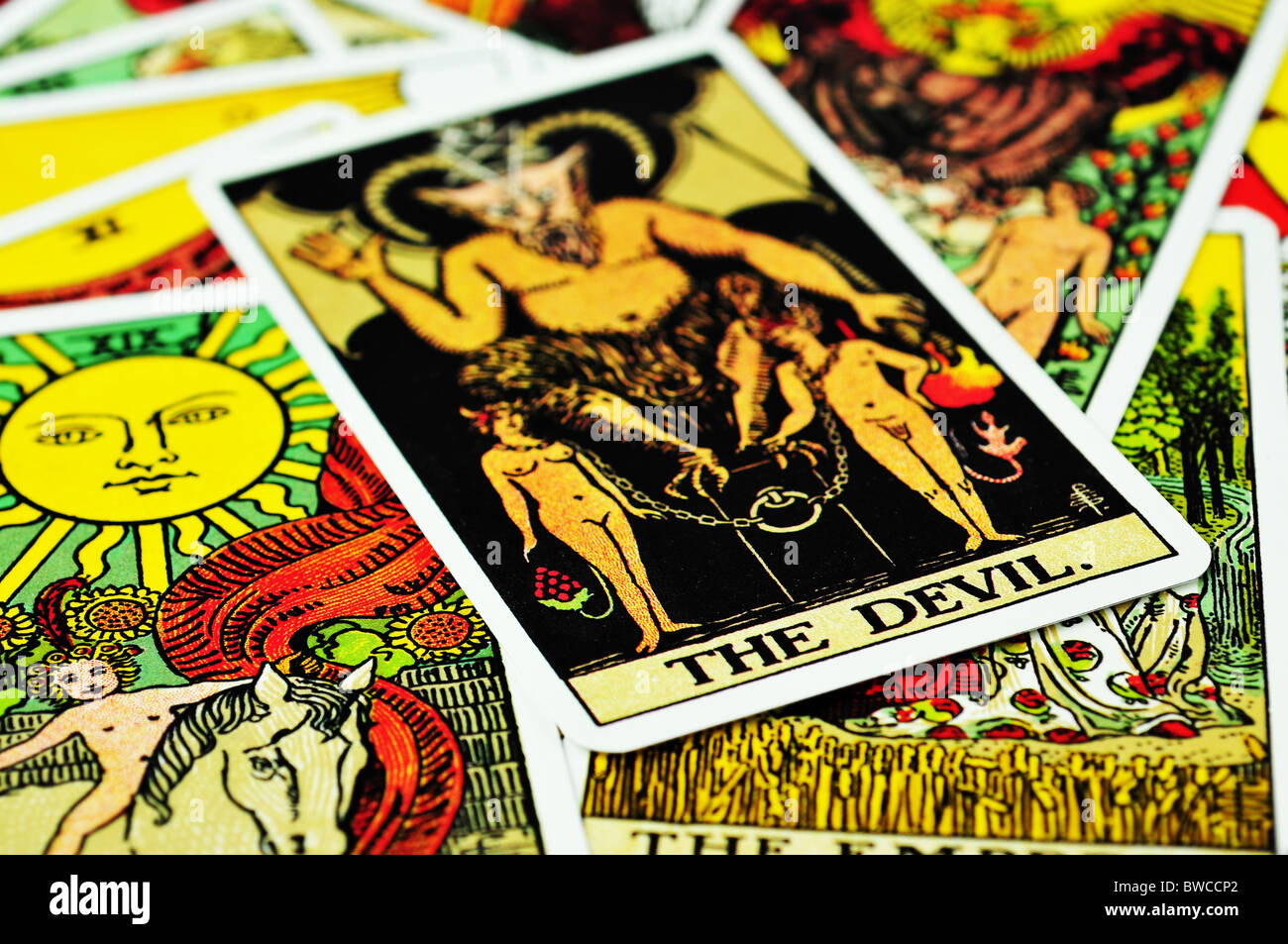 Tarot cards - Stock Image