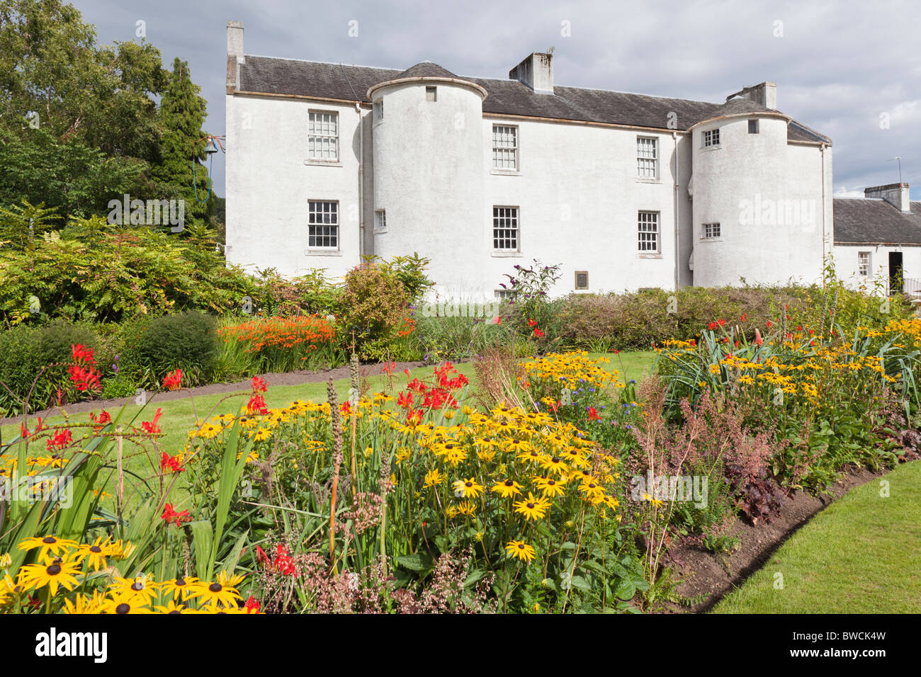 The birthplace in 1813 of the missionary David Livingstone, Blantyre, South Lanarkshire, Scotland - Stock Image