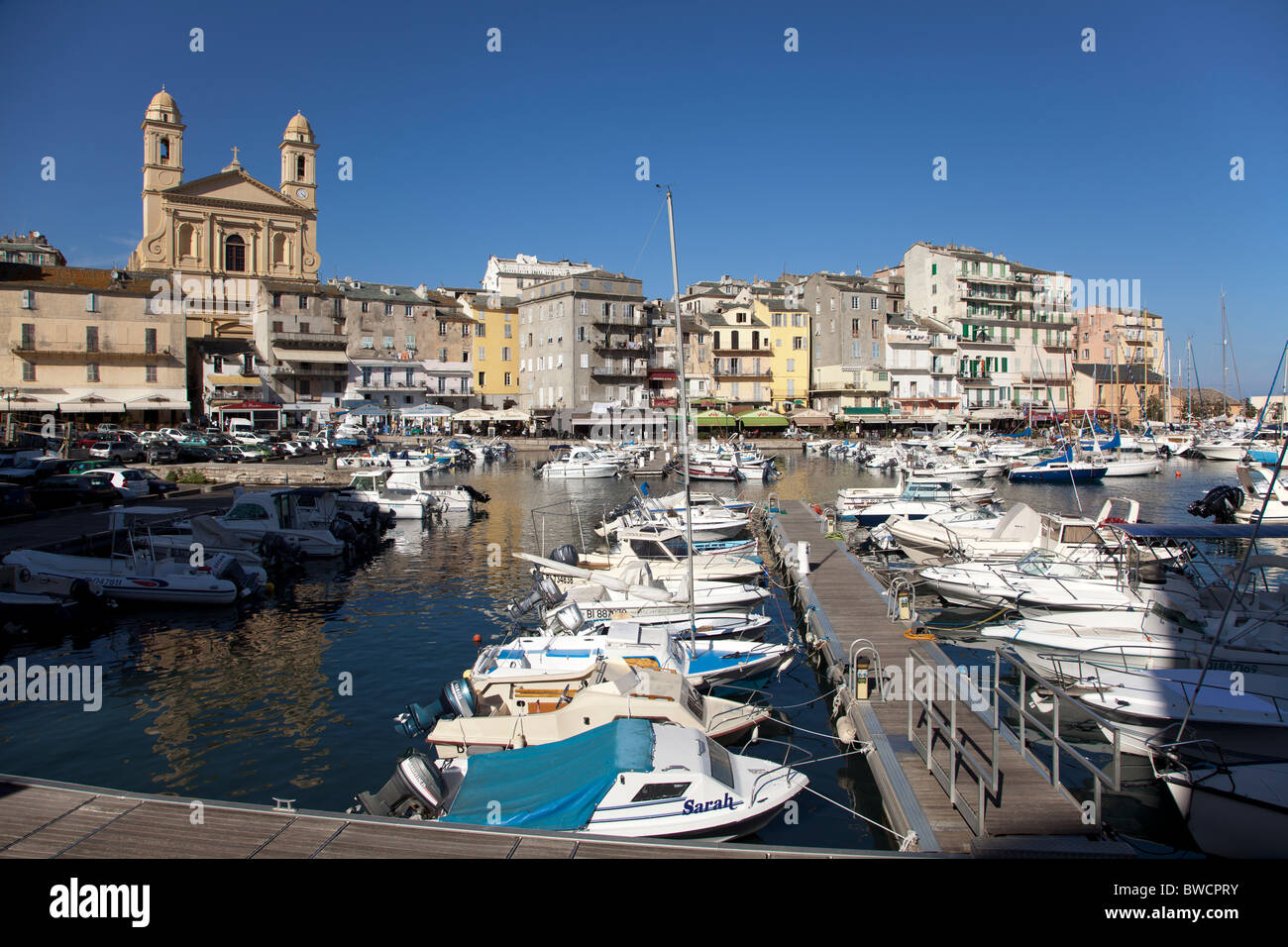 The Vieux Port At Bastia Corsica Stock Photo 32858111 Alamy