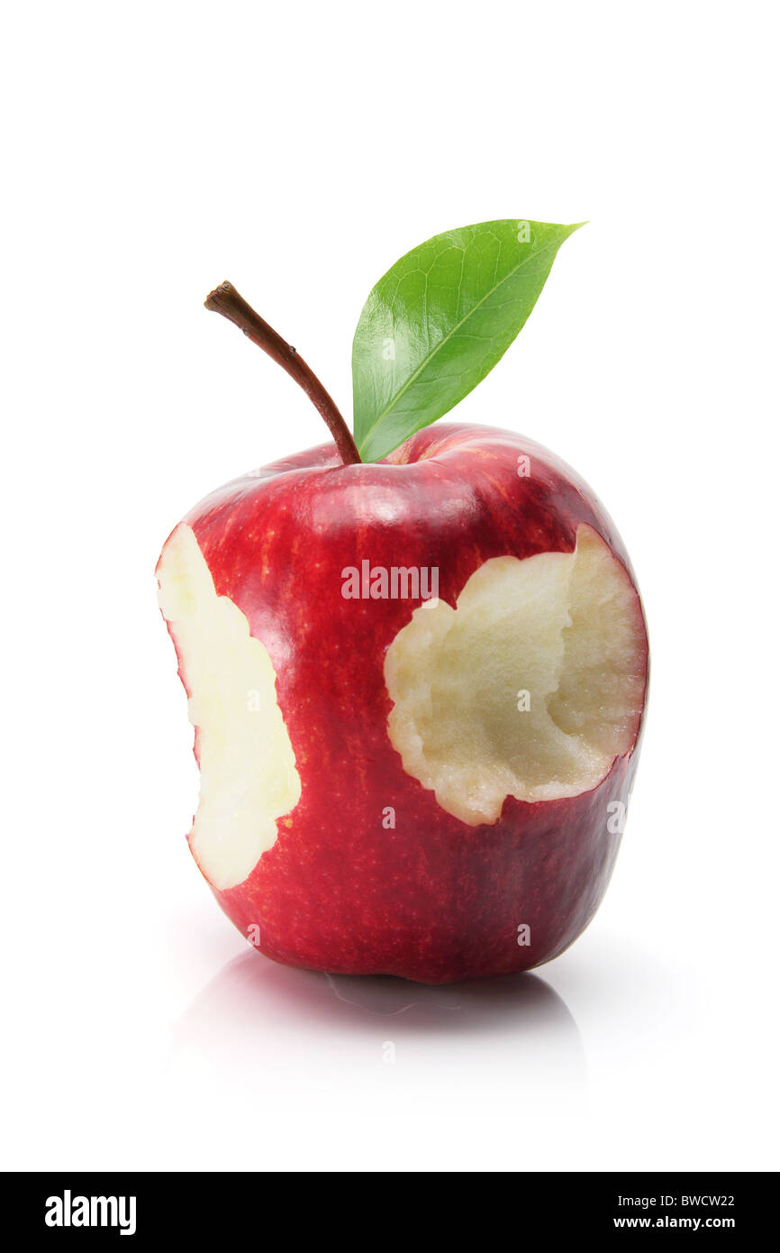 Red Delicious Apple - Stock Image