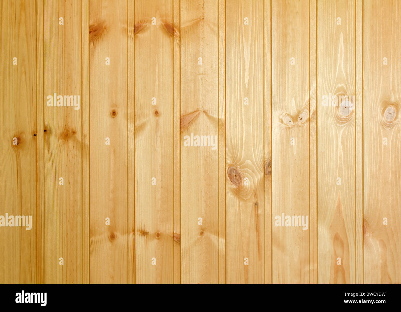 Bright decoration boards covered with clear varnish - Stock Image