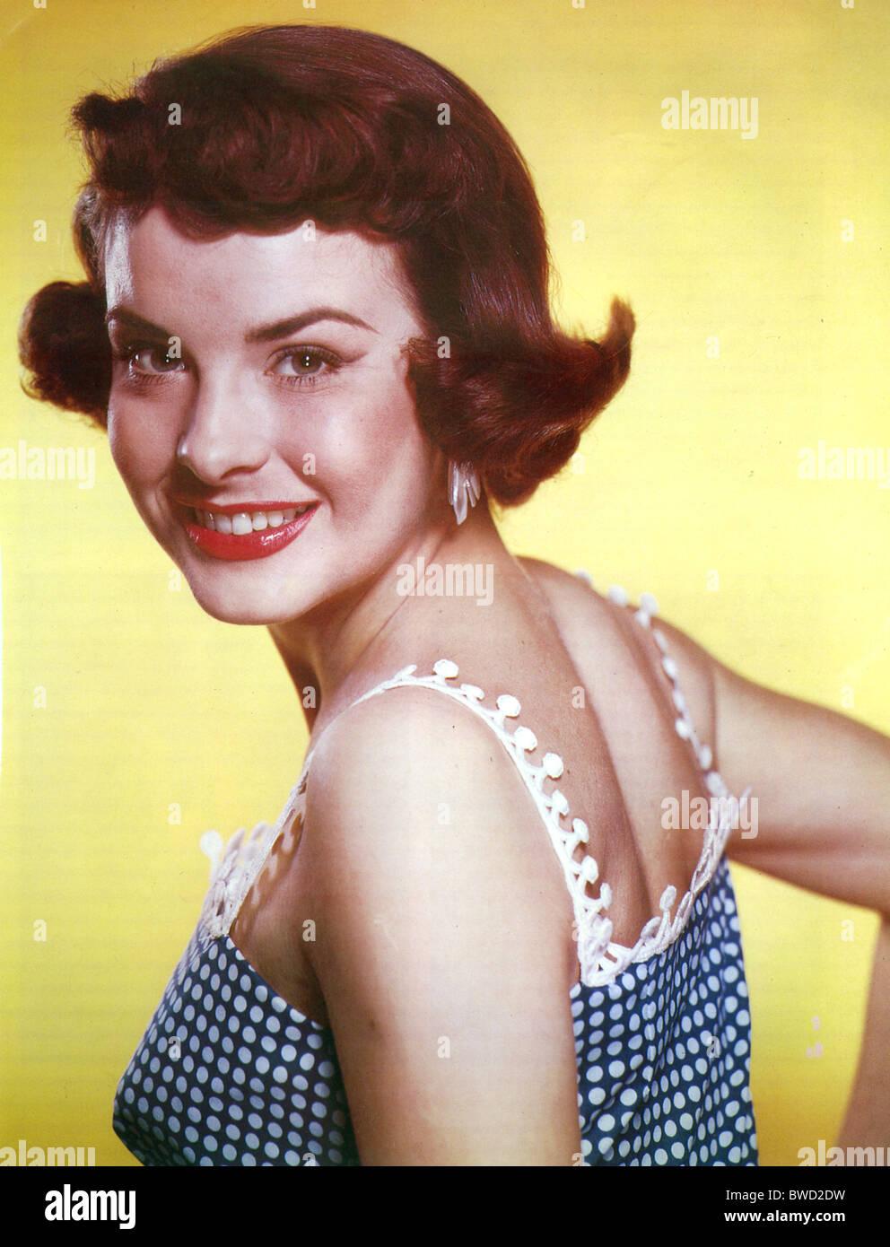 JEAN PETERS US film actress (1926-2000) - Stock Image
