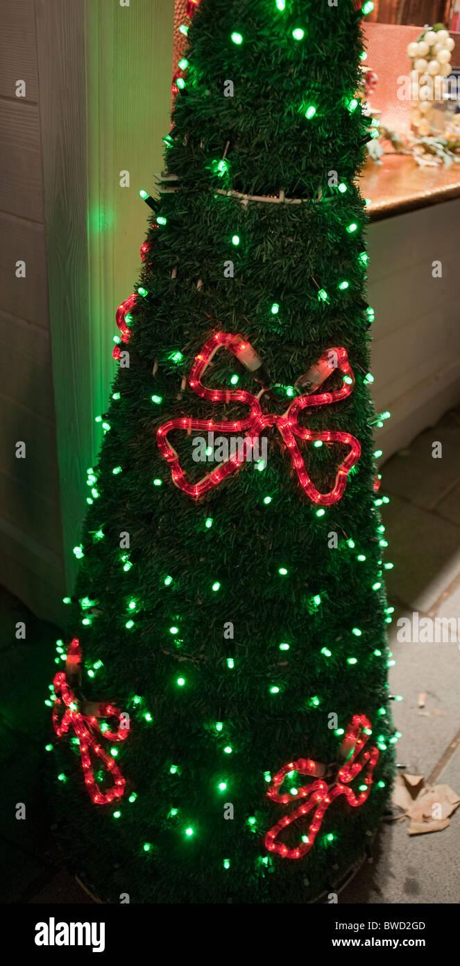 Led Lighting Christmas Decor Stock Photos & Led Lighting Christmas ...