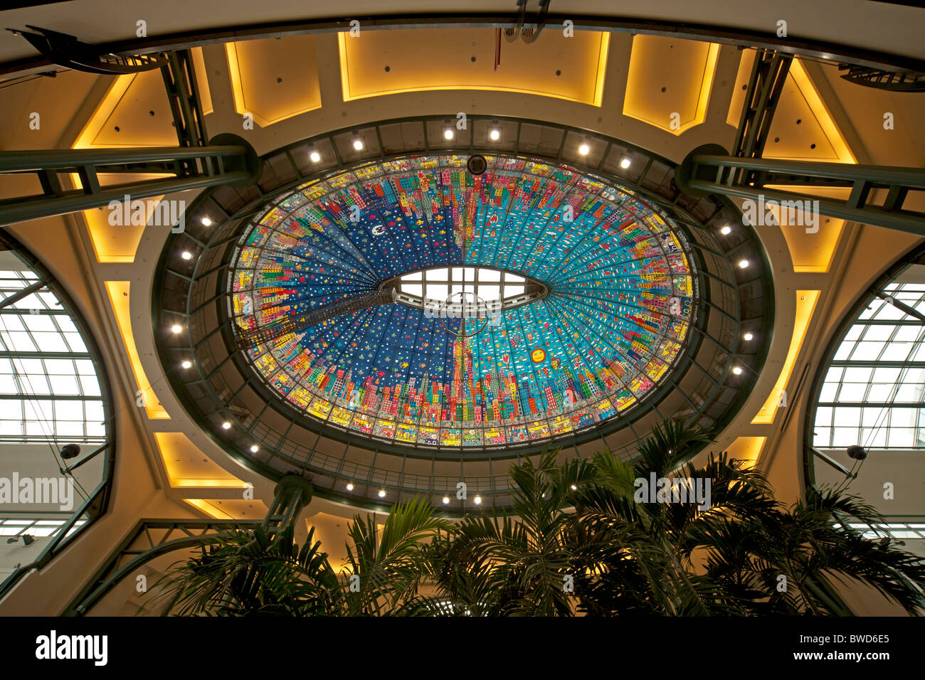 shopping complex centro in oberhausen germany - Stock Image
