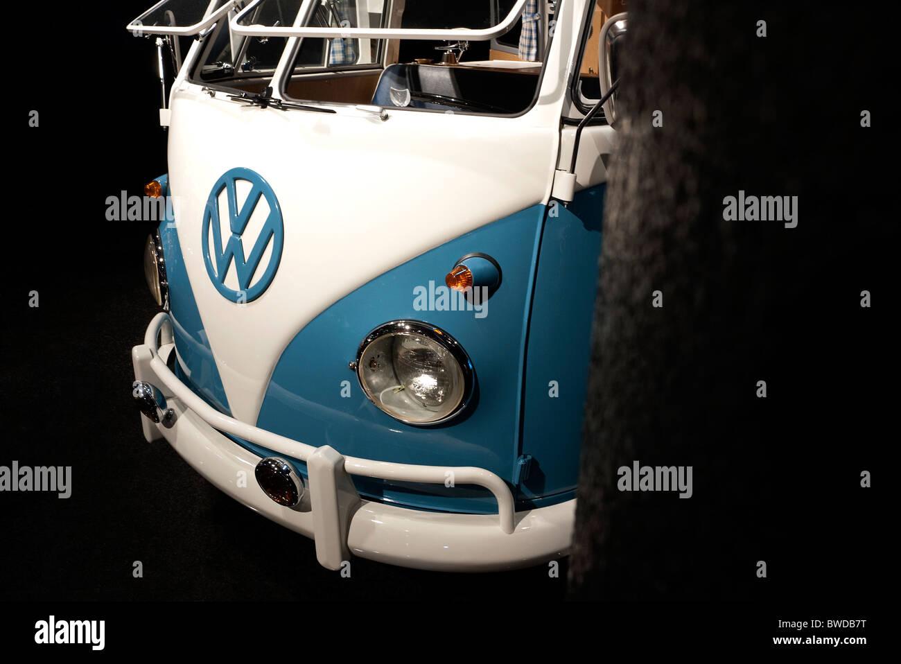 1961 VW Micro bus. - Stock Image