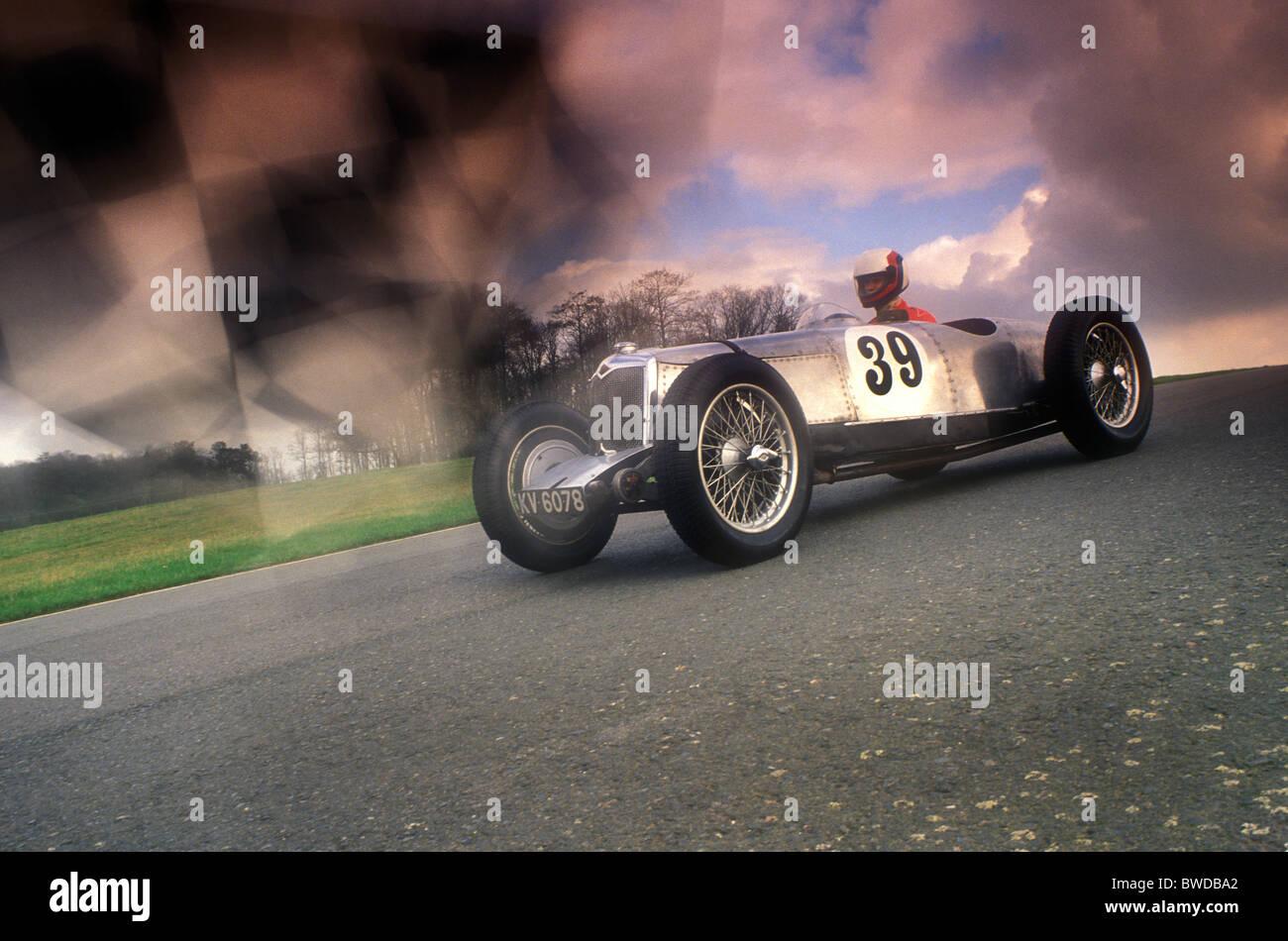 Vintage Car Racing Stock Photos & Vintage Car Racing Stock Images ...