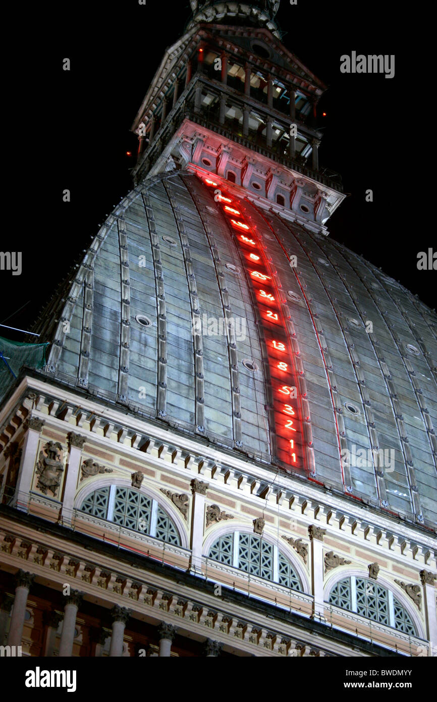 Torino, Luci d'Artista. Stock Photo